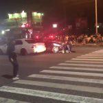 警察がパトカーで暴走族のバイクをひくのはありなのか?